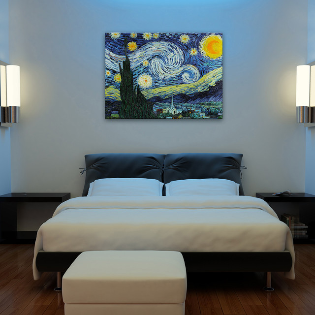 Oil paintings for bedrooms modern bedroom wichita for Mural art designs for bedroom
