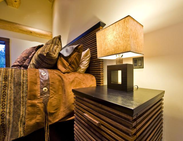 Okanagan log home rustic bedroom other by sticks for Home decor kelowna