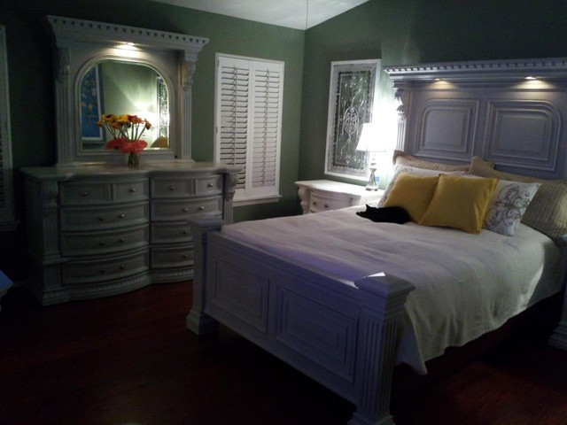 Old Bedroom Furniture Update Traditional Bedroom Los