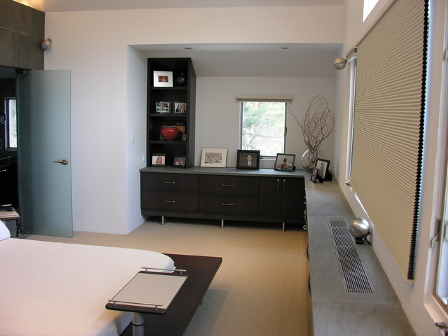 Old Brookville Residence contemporary-bedroom