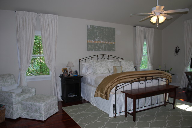 Old Metairie Decorating Job Transitional Bedroom New