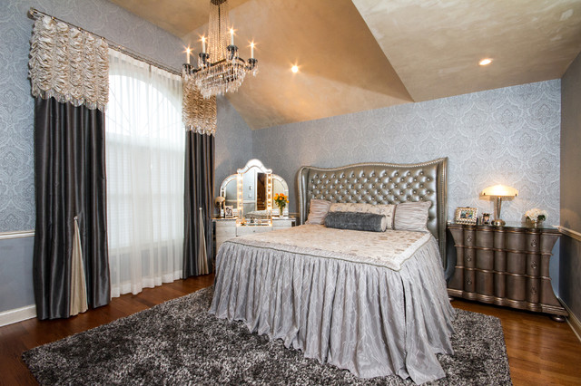 Old world hollywood eclectic bedroom new york by trade mart interiors for To the trade only interior design