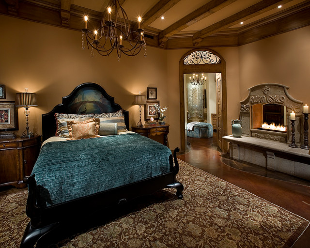Old World - Newport Beach - Traditional - Bedroom - Orange County ...