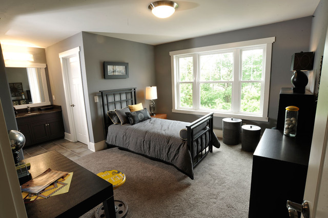 Olentangy Falls ~ Delaware, OH contemporary-bedroom