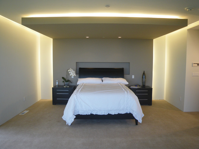 Olive Tree Lane modern bedroom