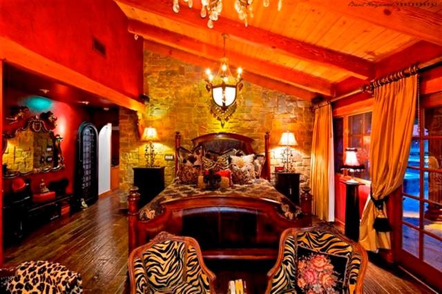 Olivenhain residence mediterranean-bedroom