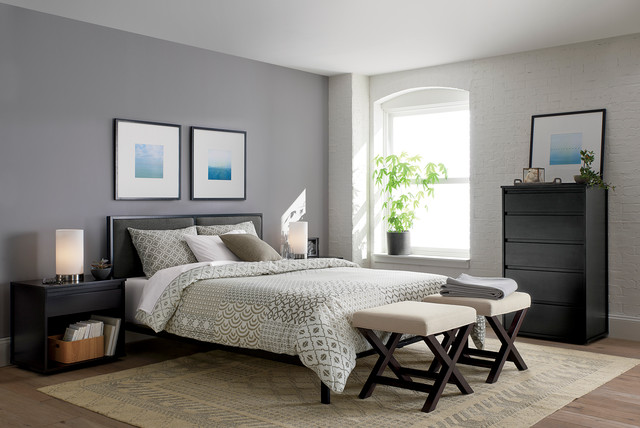 Oliver Bedroom Collection Contemporary Bedroom Chicago By Crate Barrel