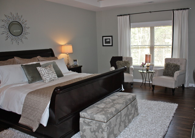 Olmstead Residence transitional-bedroom