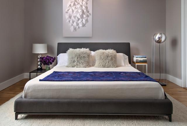 One brooklyn bridge park loft contemporary bedroom for Brooklyn bedroom ideas