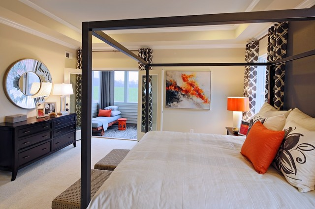 One Loudoun - Greenwich contemporary-bedroom