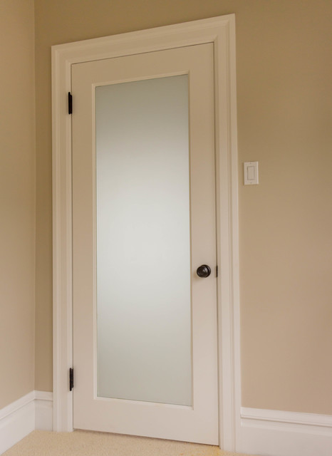 One-Panel MDF Doors traditional-bedroom