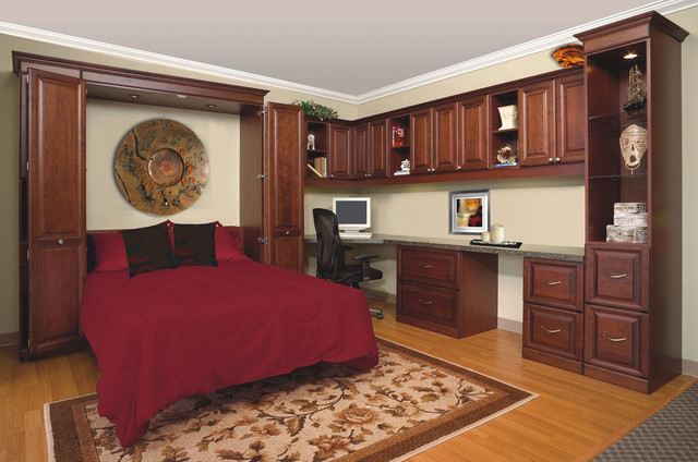Horizontal Murphy Bed Cabinet