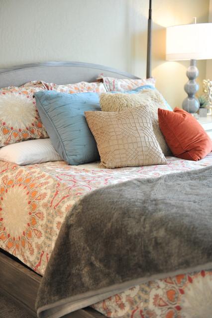 Inspiration for a transitional bedroom remodel in Salt Lake City