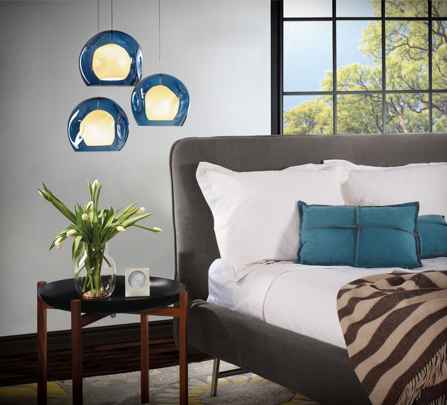 organic modern bedroom  contemporary  bedroom  other  by lumens, Bedroom decor