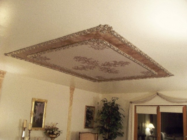 Ornamental Plaster Mold Decorating Victorian Ceilings And Walls Traditional  Bedroom