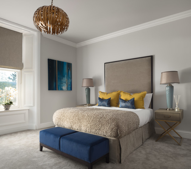 Oswald Road Transitional Bedroom Edinburgh By Zac
