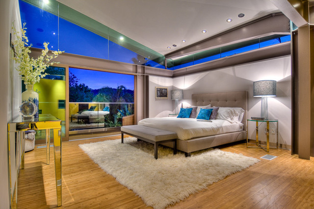 Our First Project in Los Angeles, CA contemporary-bedroom
