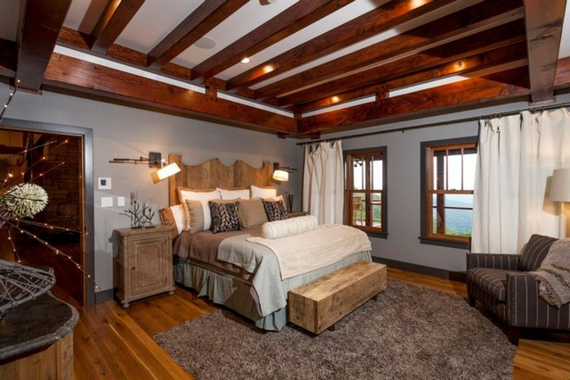 Photo of a traditional bedroom in Other.