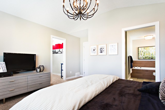 Ovation Showhome in McConachie bedroom