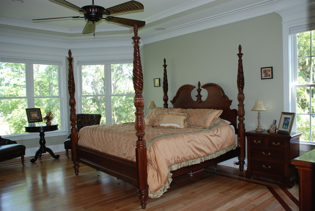 Oversized Master Bedroom Traditional Bedroom