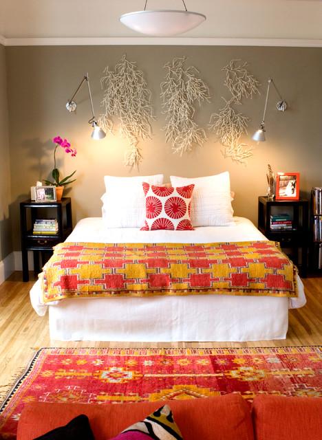 Pacific Heights Flat eclectic-bedroom
