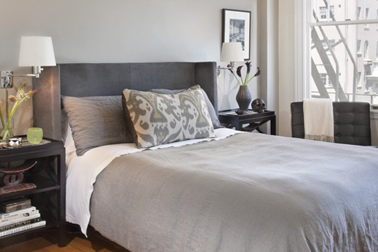 Pacific Heights contemporary-bedroom