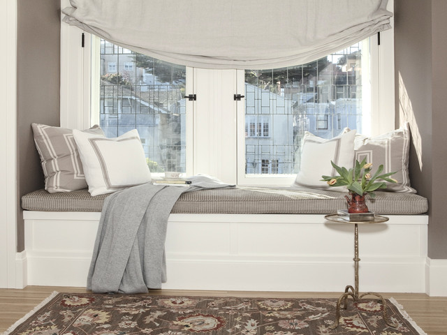. Pacific Heights Window Seat   Traditional   Bedroom   San Francisco