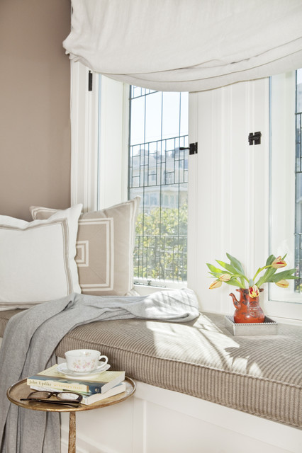 pacific heights window seat traditional bedroom san francisco