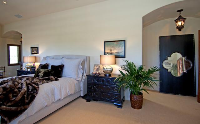 Pacific Palisades Italian Villa mediterranean-bedroom