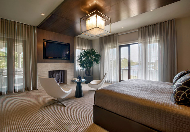 . Paddock Residence   Contemporary   Bedroom   Miami   by b g design inc