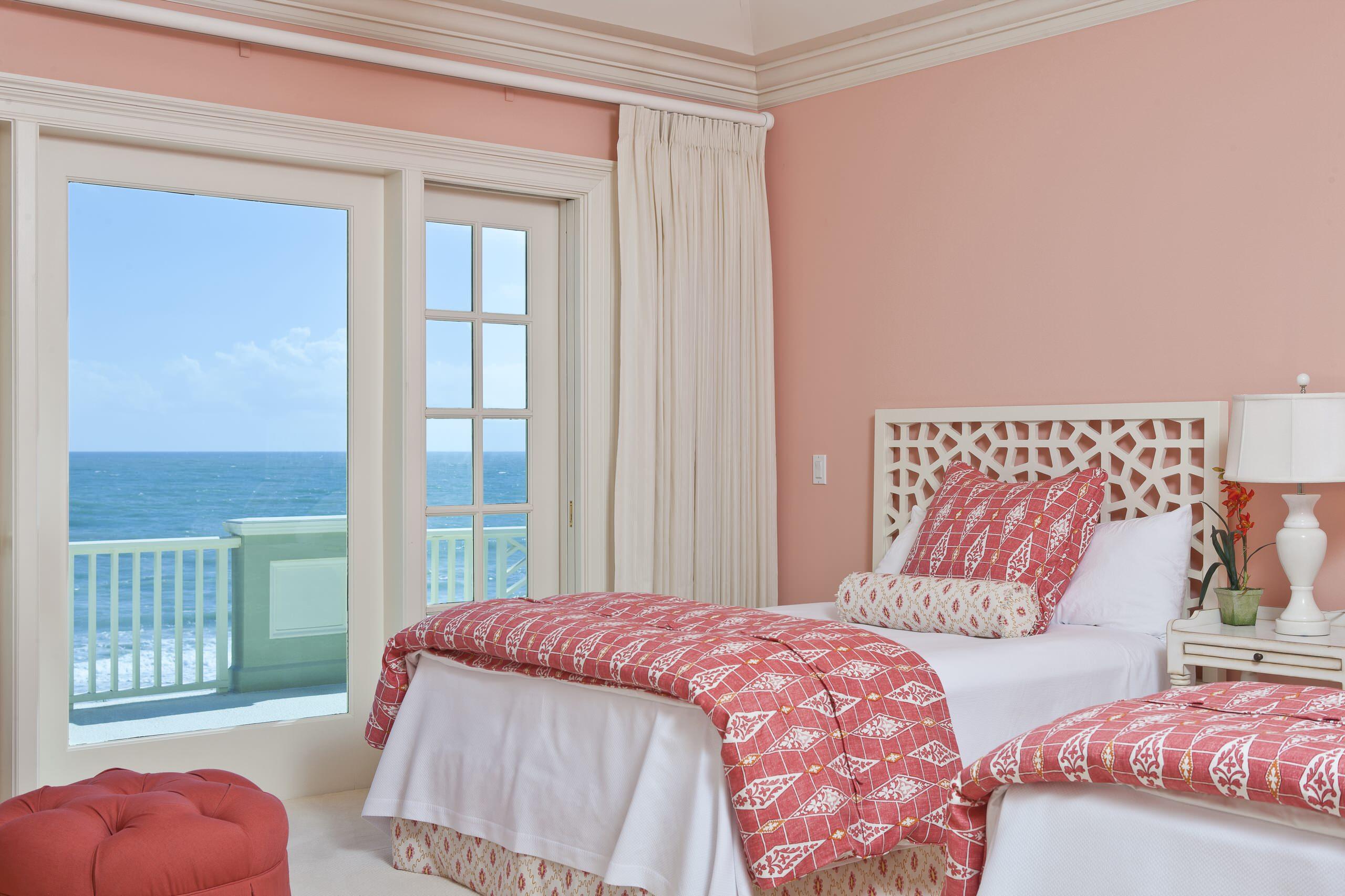 Coral Pink Bedroom Ideas Houzz