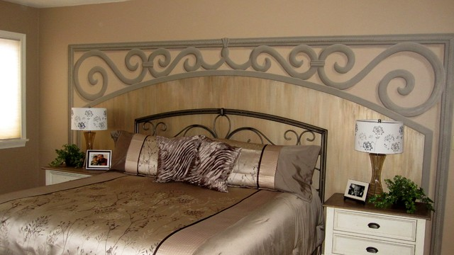 Painted Headboards contemporary-bedroom