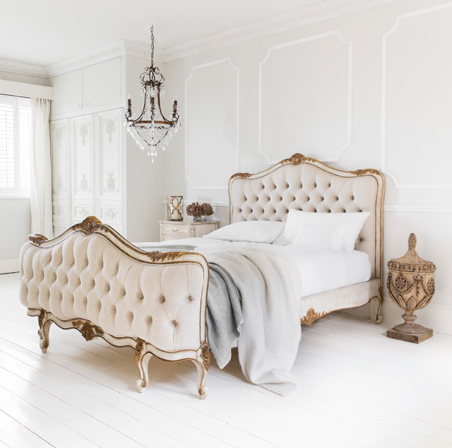 Palais Avenue Upholstered Bed - Traditional - Bedroom ...