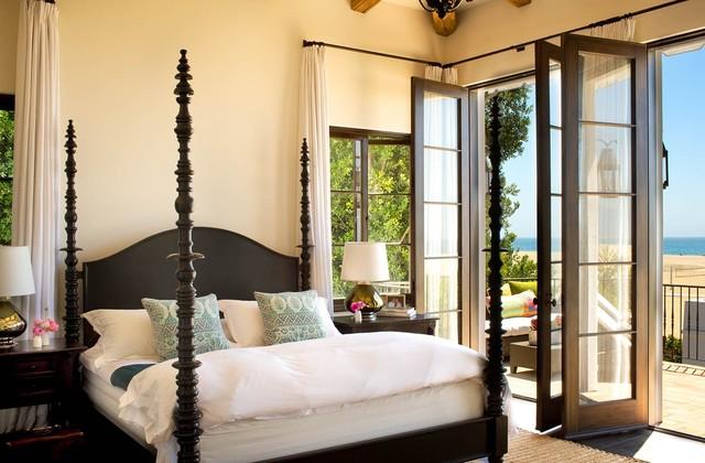 Palisades Beach Road mediterranean-bedroom