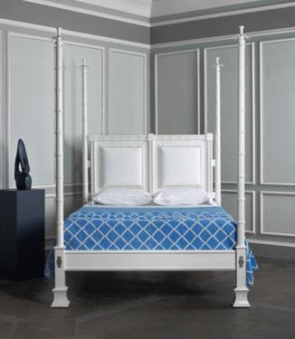 Palm Springs Bed tropical-bedroom