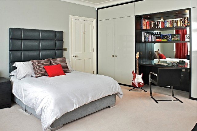 Palmers green contemporary bedroom london by fisher id for A salon palmers green