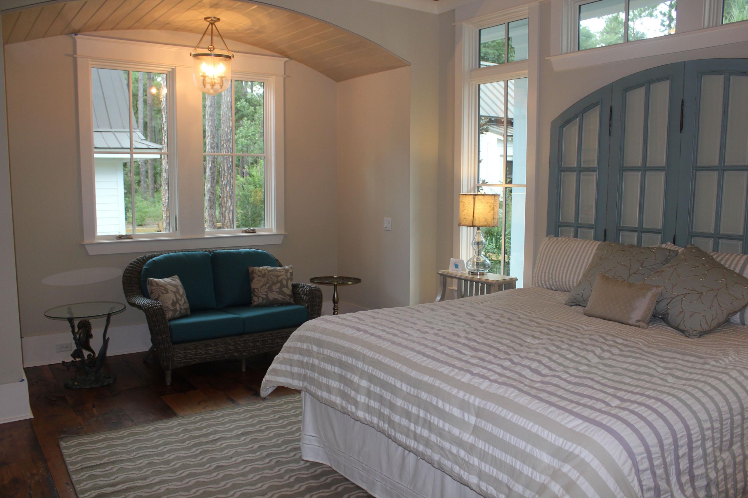 Palmetto Bluff Model Home Master Bedroom