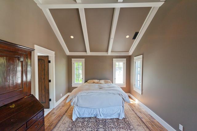 Palo Alto Tudor traditional-bedroom
