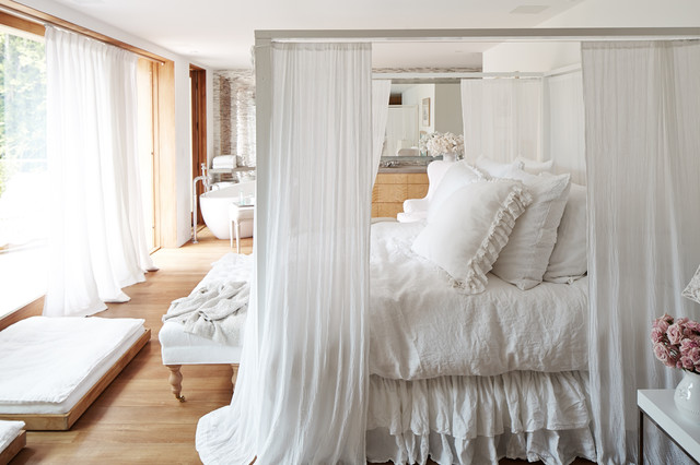 S Magincal Modern Malibu Home Shabby Chic Style Bedroom