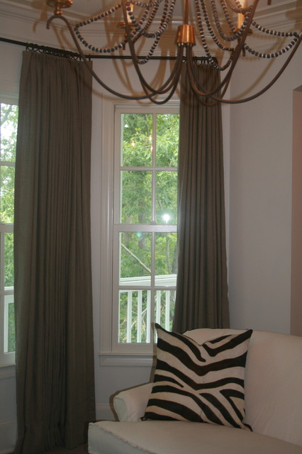 Panels Make the Room traditional-bedroom