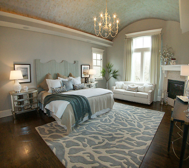 Bedrooms Transitional Home: Parade Of Homes 2014/ Master Bedroom