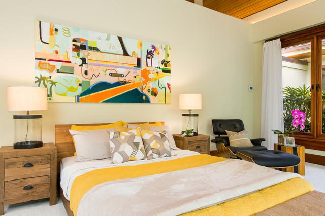 Hawaiian Style Bedroom: Paradise In Kahala