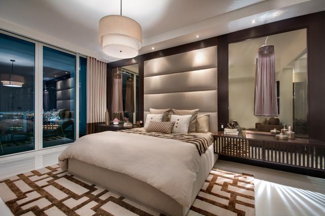Paramount Bay Miami Contemporary Bedroom By