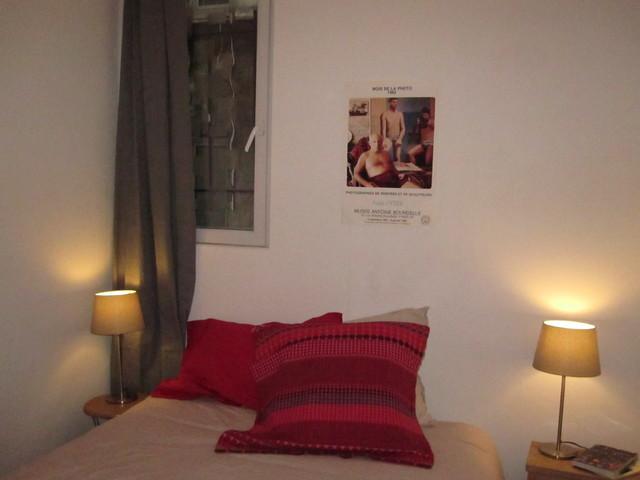 Paris Apartment 9eme eclectic-bedroom