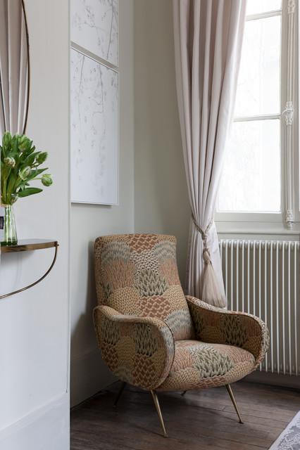 Paris Apartment eclectic-bedroom