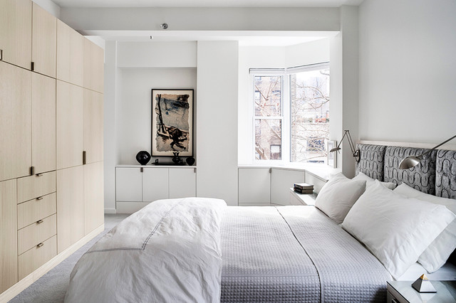 Park Avenue Apartment eclectic-bedroom