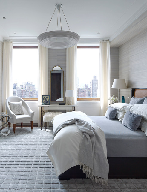 Park Avenue Residence transitional-bedroom