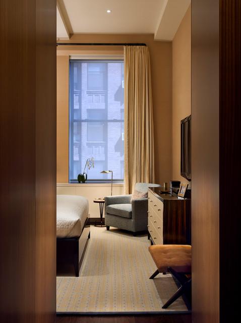 Park Avenue South contemporary-bedroom