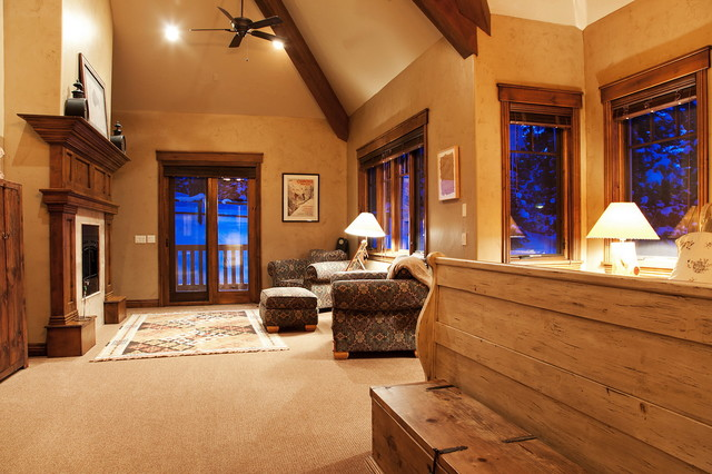 Park City Custom Home Builder, B&B Builders inc. traditional-bedroom