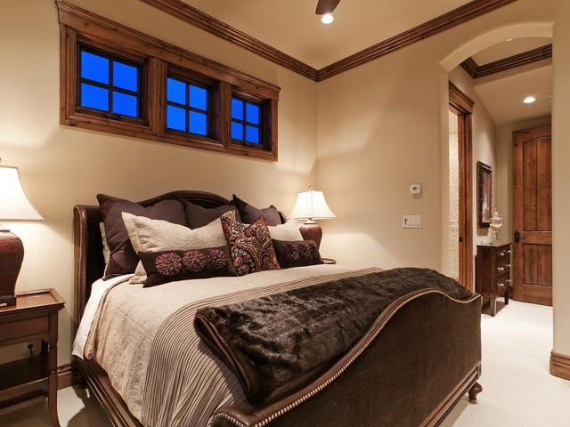 Park City Utah Showcase of Homes by Cameo Homes Inc. traditional-bedroom